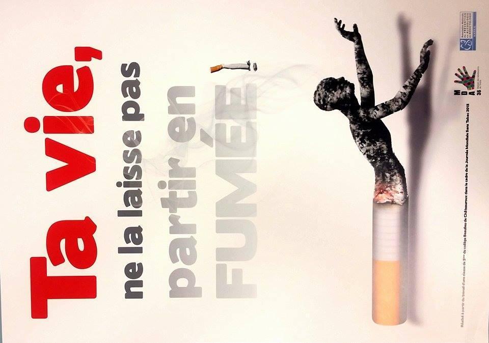 Concours R 233 Alisation Affiche Pr 233 Vention Du Tabac Maison